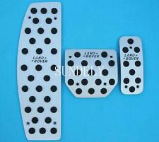 Foot Pedals Aluminum  For Land Rover LR3 LR4 Range Rover Sport Discovery 3 4 AT