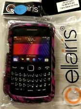 Cellaris - Hot Pink Zebra Skin Case Cover for Blackberry 9370 GCI