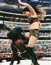 Paige Autograph 11x14 Photo WWE Diva Champion Signed JSA COA 2