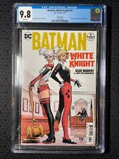 Batman White Knights (2017) #3 Murphy Variant CGC 9.8 White Pages 1st Neo Joker