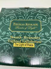 Thomas Kinkade Seaside Memories The Light of Peace 1999 Light Up