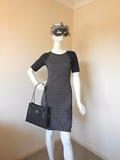 FACTORY OUTLETS LITTLE BLACK  DRESS SIZE 8  RAYON