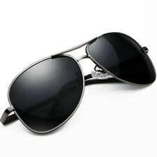 Aviator Sunglasses Pilot Cop Vintage Black New Men Women Fashion UV Glasses Gift