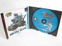 METAL SLUG SNK Best Collection Ref/ccc PS1 Playstation Japan Game p1