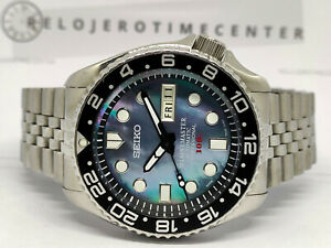 SEIKO MARINE MASTER MOTHER OF PEARL MOD 7S26-0020 SKX007 AUTOMATIC WATCH 750390