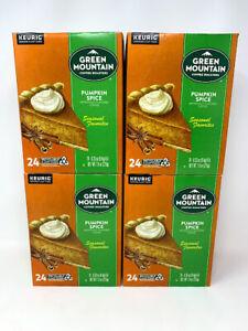 Green Mountain Coffee Pumpkin Spice Keurig K-Cup Pod Light Roast 96 Count 06/23