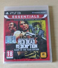 RED DEAD REDEMPTION GOTY PLAYSTATION 3 PS3  SIGILLATO ITALIANO GAME OF THE YEAR