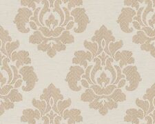 PASTE THE WALL GOLD TONE CREAM BEIGE HEAVYWEIGHT WALLPAPER A.S.CREATION 94355-5