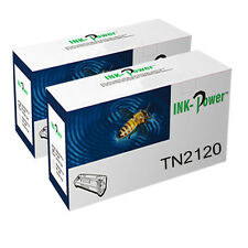 2 TN2120 TONER CARTRIDGE FOR BROTHER MFC-7320 MFC-7440N MFC-7840W