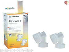 MEDELA BREASTSHIELD CONNECTOR x2 BREAST PUMP SHIELD RETAIL SEALED #87071