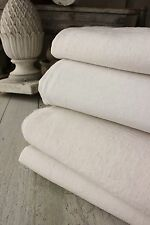 Linen cotton sheets French ~ FOUR  homespun French linen sheets 4 fabric
