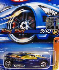 2005 Hot Wheels #69 Track Aces  - SLING SHOT  #9/10 FACTORY SET