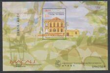 Macau - 1999, Buildings sheet - MNH - SG MS1121