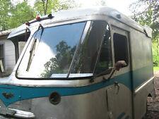 DRIVER SIDE ONLY ..Vintage Grumman Olson Kurbside Step Van repo corner window.