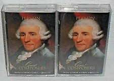 HAYDN Time Life Great Composers 2 Cassette Tape Set NEW Sealed