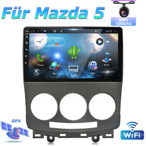 """9"""" Android 10.0 Car Stereo GPS For Mazda 5 2005-2010 Head Unit Navi Car Play AUX"""