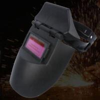 Black Safe Solar Powered Auto-Darkening Welding Helmet Grinding TIG Welder Mask