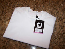 FJ - FOOTJOY CORE 15 - SEAMLESS THERMAL BASE LAYER - S - POLYESTER - NWt - WHITE
