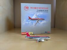 Northwest Airlines Airbus 319 1:500 scale model be Starjets