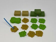 PLAYMOBIL Lot of Hay Bales - Farm Ranch Horse Bed Pitch Fork - Parts Pieces