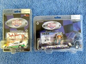 2 Action Racing 1:64 Die Cast Dragster & Funny Car Amato & Force Limited Edition