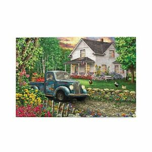 Colorful Life Wooden Jigsaw Puzzle IQ Developing Education Game 300/500/1000p