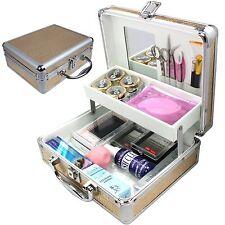 25 pcs False Eye Lashes Eyelash Extension Glue Removal Tools Kit makeup Set case