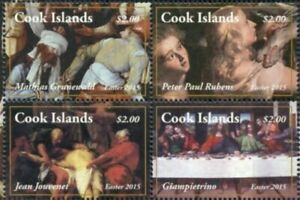Cook Islands 2015 - Easter - Block of 4 - MNH