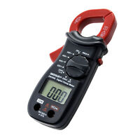 Digital Clamp Meter Handheld Multimeter DC AC Volt AC Current OHM Diode Tester