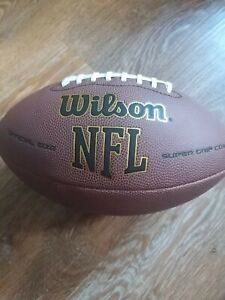 Wilson NFL American Football ball official size super grip cover WTF1795 JKV