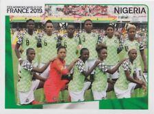 Panini Sticker Frauen Fußball WM 2019 Nr. 82 NIG Nigeria Mannschaft / Team NEU