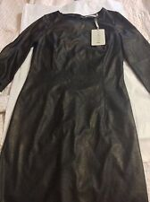 NEW KOOKAI Black Leatherette Dress - EU 40