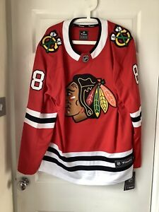 Brand New With Tags Fanatics NHL Chicago Blackhawks Jersey Red Large Kane 88