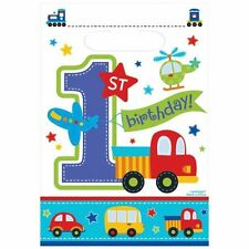 All Aboard Birthday Loot Bags Baby 1st Birthday Party Favour Bag