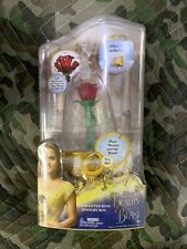Disney Beauty & The Beast Live Action Enchanted Rose Jewelry Box Toy, New
