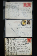 Palestine Early Stamped Postcards and Covers