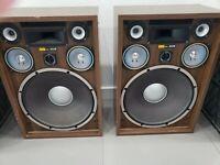 Rare Vintage Sony SS-850II Speakers Loudspeaker System 1985
