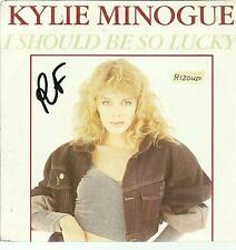 45 TOURS  KYLIE MINOGUE    I  SHOULD BE SO LUCKY