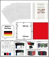 10 LOOK 304653 SAMMELHÜLLEN NUMOH 1C 169x216mm + ZWL-R Für ETB Ersttagsblätter