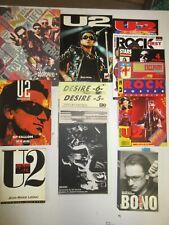 LOT U2 ; Livres et Revues; Zooropa'93/revues fan club/ Divers livres: 5 Kilos