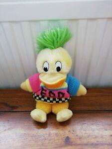 "Vintage Edd the Duck BBC 1990  Plush Soft Toy - Approx 8"""