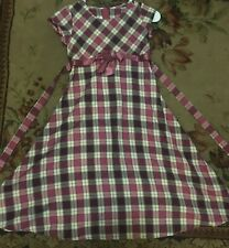 Bonnie Jean Plaid size 6 dress in great condition