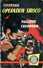 Arabesque Espionnage 101 - Philippe Casanova - Opération..- EO1959 - Jef de Wulf