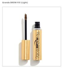 Grande Brow fill Tinted Brow Gel With Peptides & Fibers.Covers Gray. Light 4g.