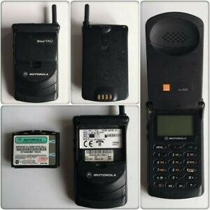 Motorola Startac mr501 Collectors Mobile Phone (Orange) **SEE FULL DESCRIPTION**