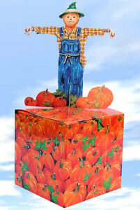 Scarecrow & Pumpkin Gift Box - Wrapping Paper