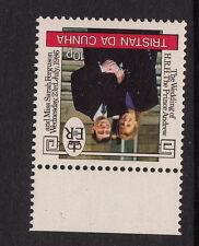 TRISTAN DA CUNHA:1986 Royal Wedding 10p  inverted watermark SG415w  un.mint