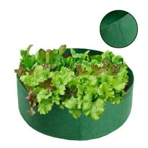 Raised Fabric Garden Bed Planter Flower Grow Bag Elevated Vegetable Box Outdoor