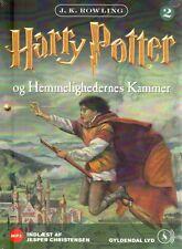 1 MP3 CD Harry Potter DÄNISCH Hörbuch - Og Hemmelighedernes Kammer, NEU