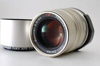 【Mint】 Contax Carl Zeiss  Sonnar T* 90mm F/2.8 w/ Hood for G1 G2 from Japan #181